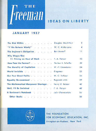 cover image January 1957