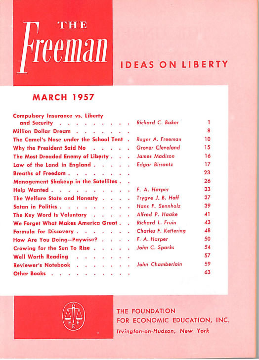 cover image March 1957