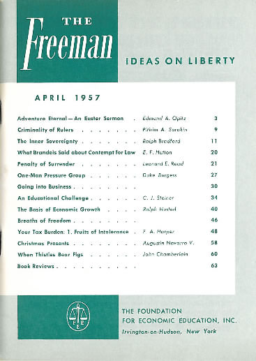 cover image April 1957