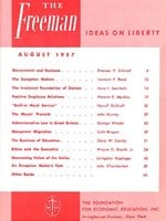 cover of August 1957
