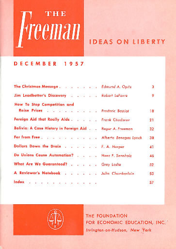 cover image December 1957
