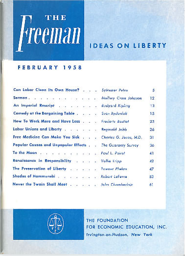 cover image February 1958