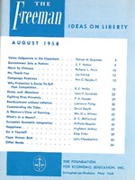cover of August 1958