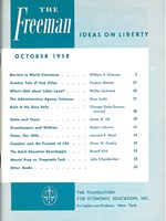 cover of October 1958