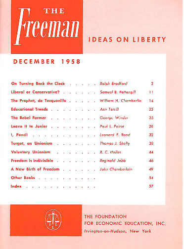 cover image December 1958