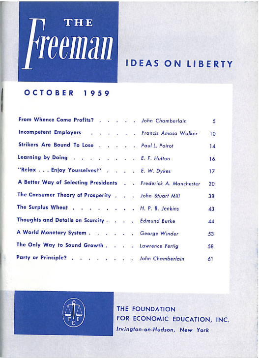 cover image October 1959