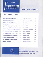 cover of October 1959
