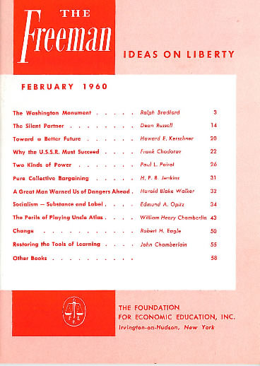cover image February 1960