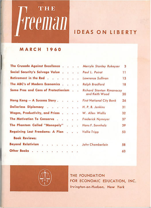 cover image March 1960