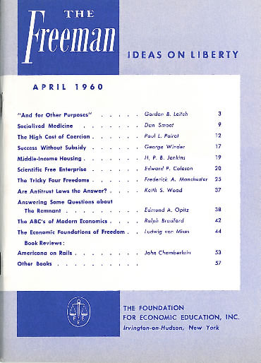 cover image April 1960