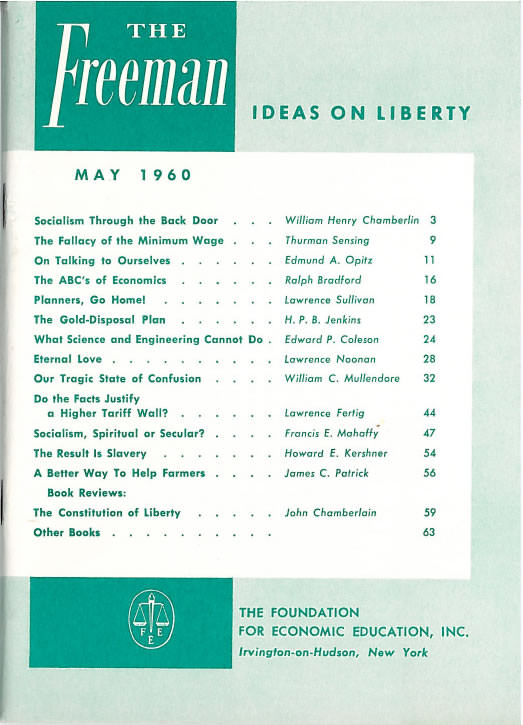cover image May 1960