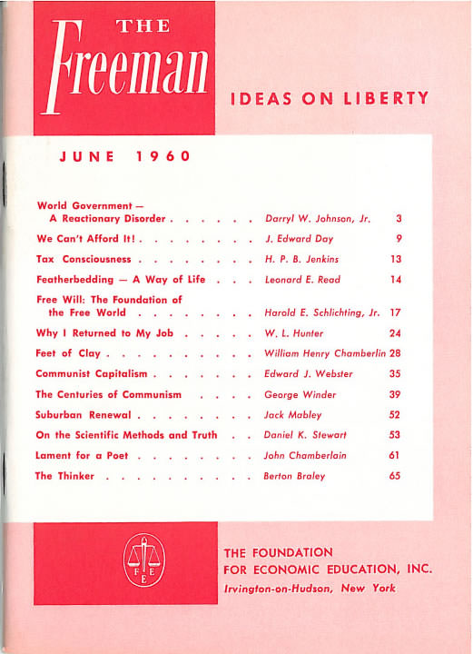 cover image June 1960