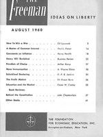 cover of August 1960