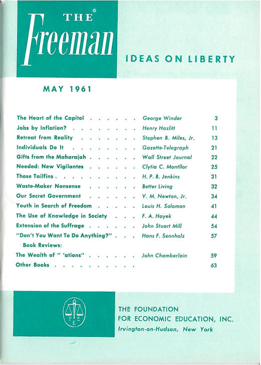 cover image May 1961