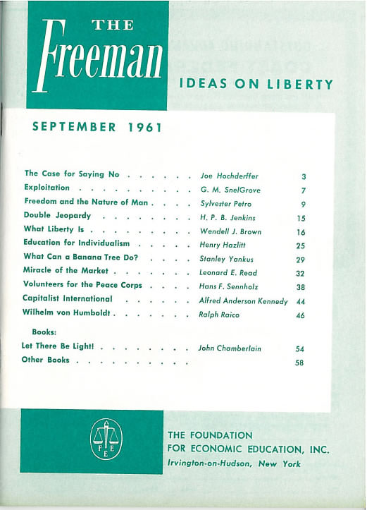 cover image September 1961