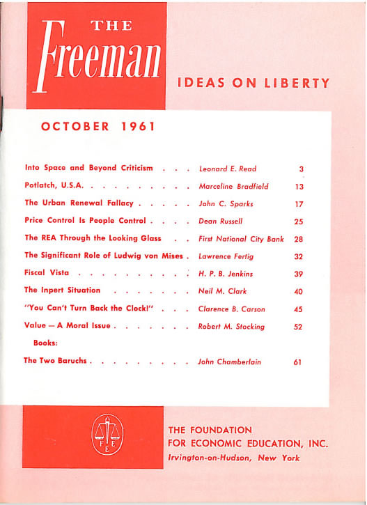 cover image October 1961