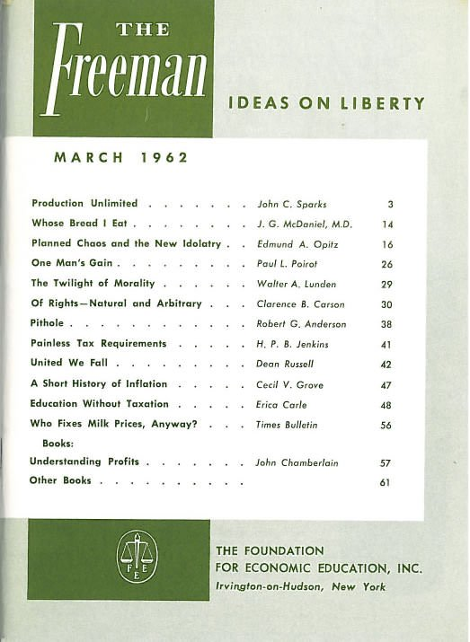 cover image March 1962