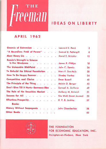 cover image April 1962