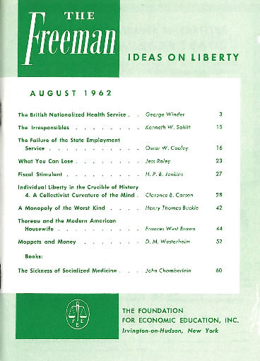 cover image August 1962