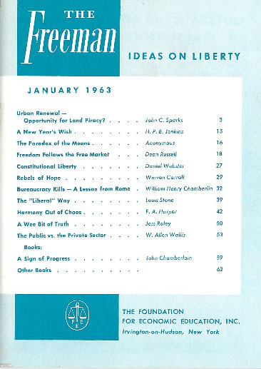 cover image January 1963