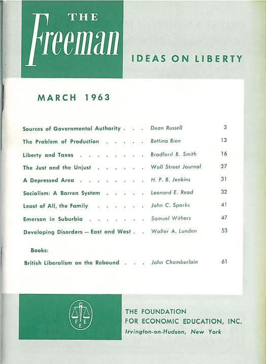 cover image March 1963