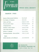 cover of March 1963
