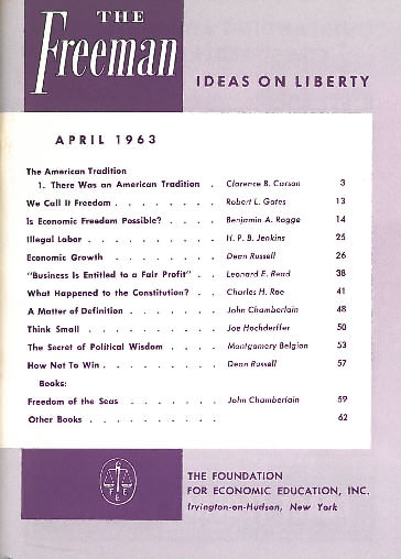 cover image April 1963
