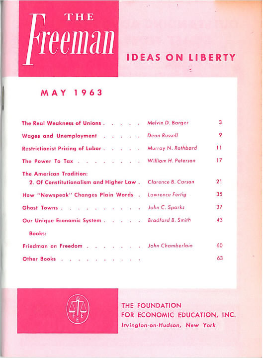 cover image May 1963