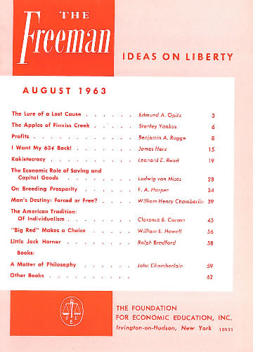 cover image August 1963