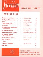 cover of August 1963