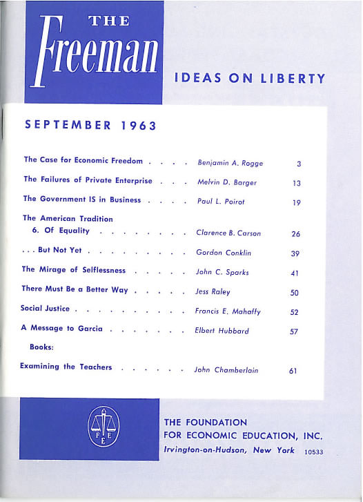 cover image September 1963