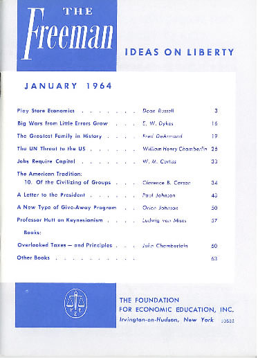 cover image January 1964