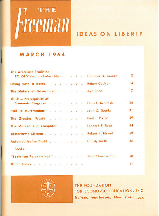 cover image March 1964
