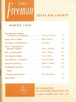 cover of March 1964