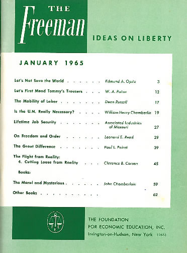 cover image January 1965