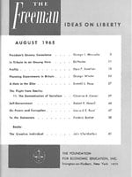 cover of August 1965