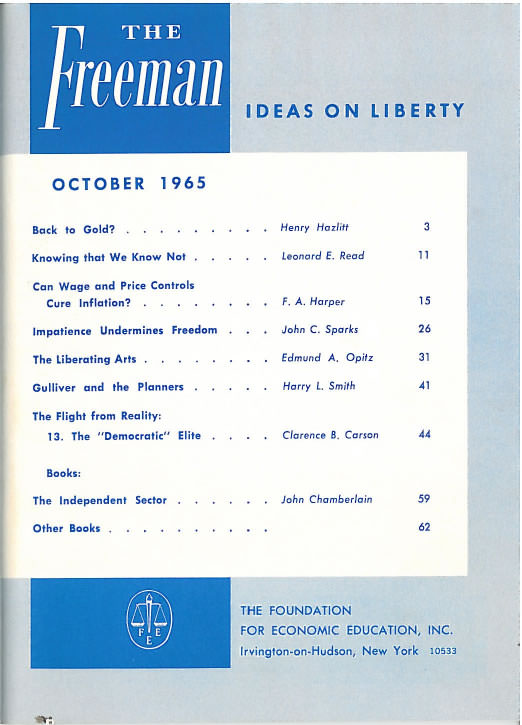 cover image October 1965
