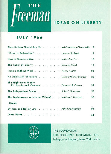 cover image July 1966