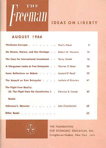 cover image August 1966