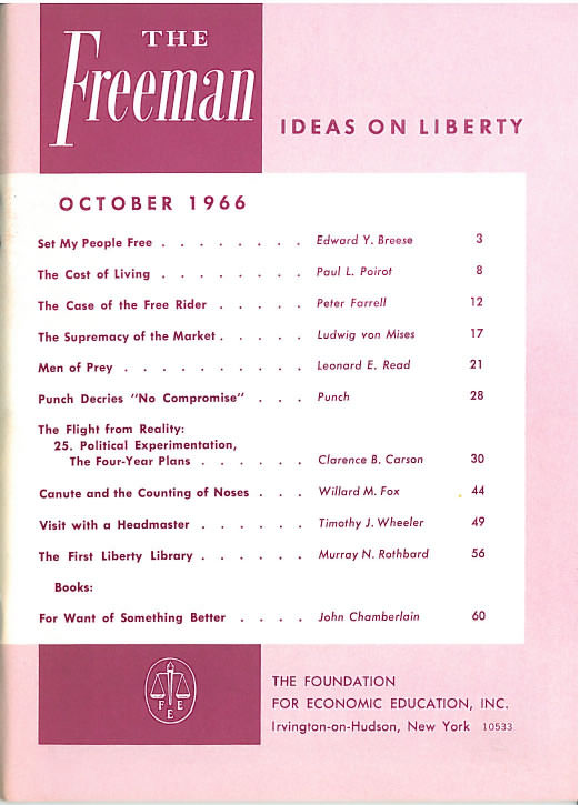 cover image October 1966