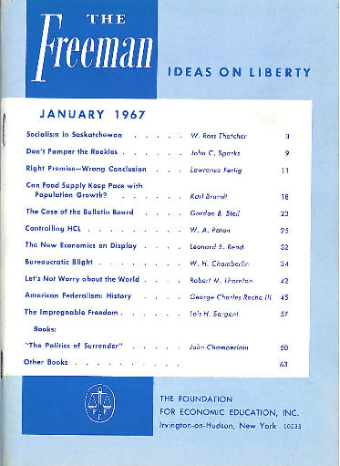 cover image January 1967