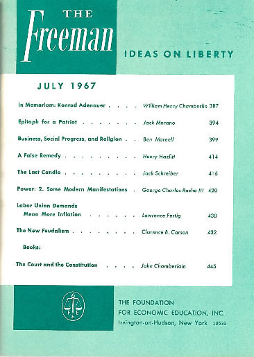 cover image July 1967
