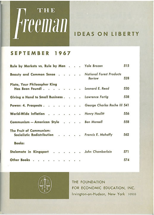 cover image September 1967