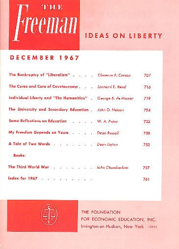 cover image December 1967