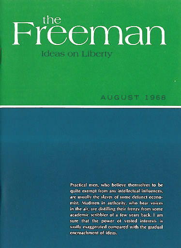 cover image August 1968