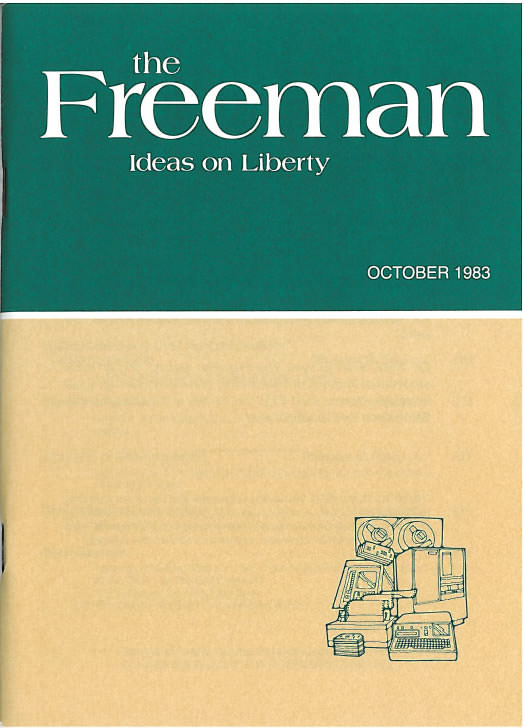 cover image October 1983