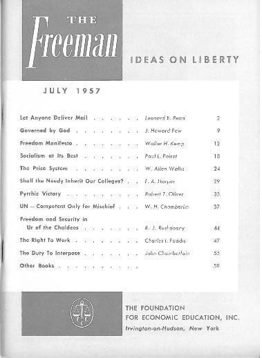 cover image July 1957