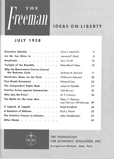 cover image July 1958