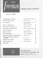 cover of July 1959