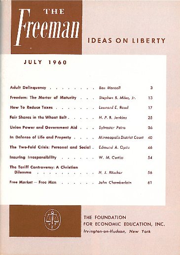 cover image July 1960